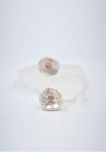 Boucles d Oreilles de Mariée en Perles d'eau douce