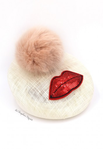 bibi chapeau pompon