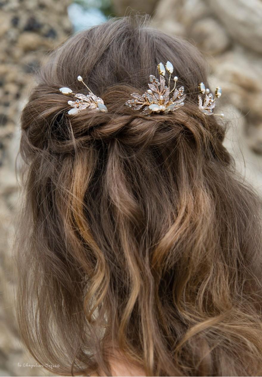 Pics à Cheveux de Mariage - Les Comètes