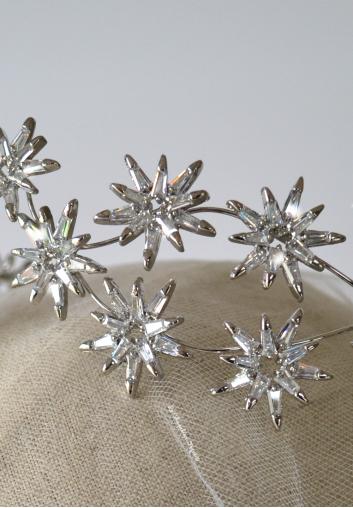 diademe mariage Swarovski cristal